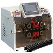 machine de coupe de tuyau PVC alvéolé