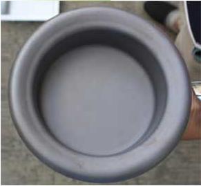Pot d'étain en titane