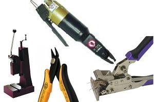 outils manuels de coupe et préformage pour l'electronique