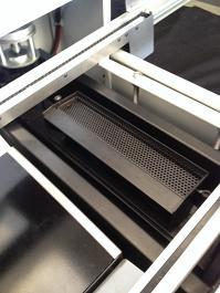 unité de recentrage mécanique par pinces - Robot de pose et placement pour câblage CMS