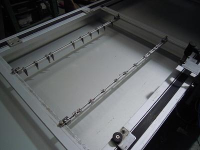 Doigts de vague ou de cadre - Wave soldering machine