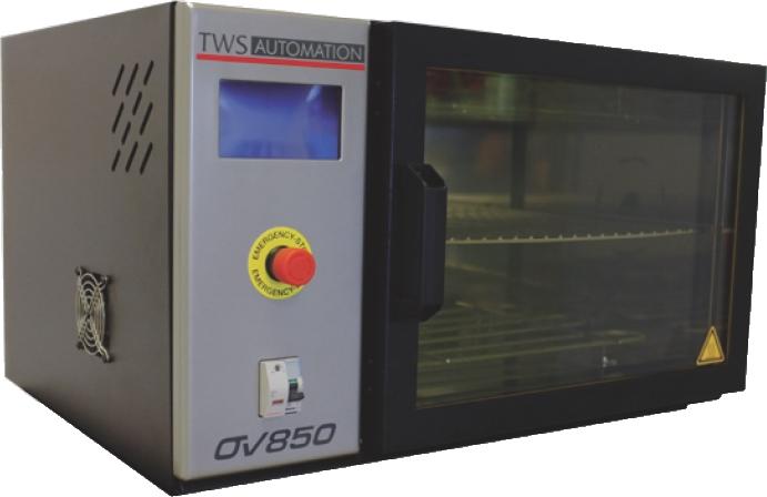 Four de polymérisation pour composants électroniques CMS